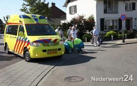 Ongeval met fietser Nederweert op de Schoolstraat 3306