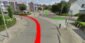Verkeerssituatie-Schoolstraat-Nederweert