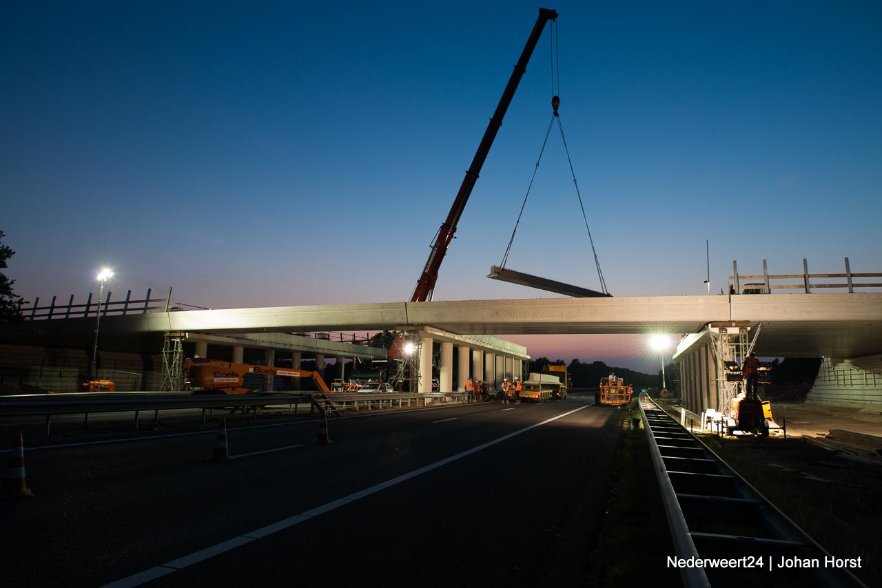 Werkzaamheden aan Ecoduct over A2