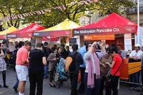Pasar Malam tijdens winkelzondag Weert
