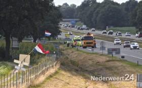 2013-08-03 Eenzijdig ongeval A2 Nederweert 036