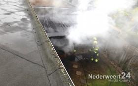 Uitslaande brand Boerenkamplaan 146 Someren