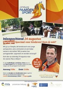 Poster inloopochtend springen 24-08-13
