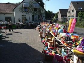 Vlooienmarkt Buurtschap Rietstraat Laar