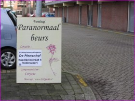 Paranormale beurs Pinnenhof