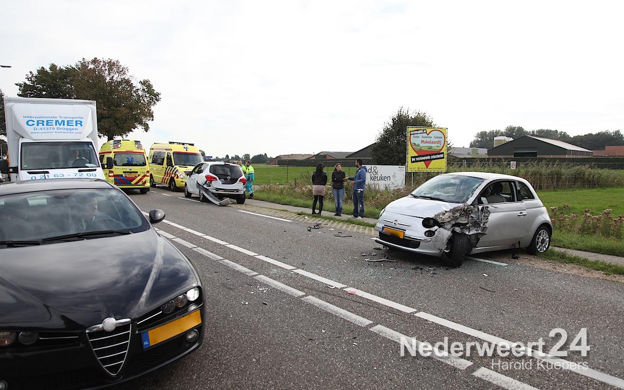 Kop-staart botsing Rijksweg Zuid