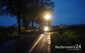 Stormschade Zwarteboordweg Ospel