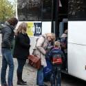 De Tweesprong met bus naar school
