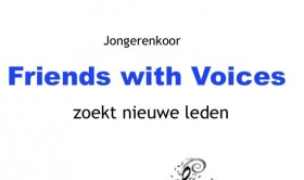 Jongerenkoor Friends with Voices
