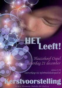 Kerstvoorstelling Harmonie Melodie der Peel Ospel
