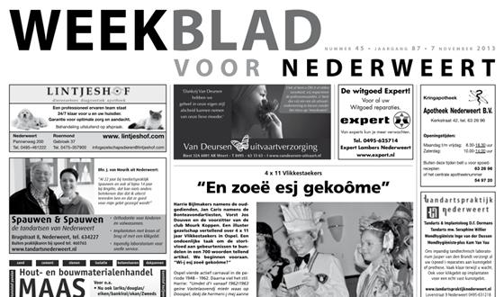 Weekblad nr 45