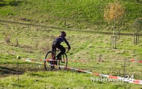 Anne Schumacher tijdens Wielrennen in Weert