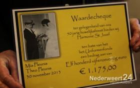 Onderscheiding Harmony St Joseph Nederweert bij Willem Tel Budschop