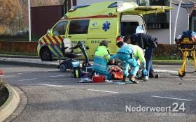 Ongeval scootmobiel Noorderbaan Heuythuysen