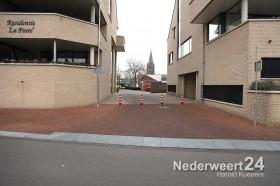 2013-12-17 Afsluiting Geenestraat Brug. Hobusstraat Nederweert 2612