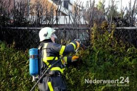 Brandje door vuurwerk Lorentzlaan Weert
