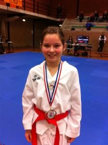 Jamie Vossen Zuid Nederlands kampioen