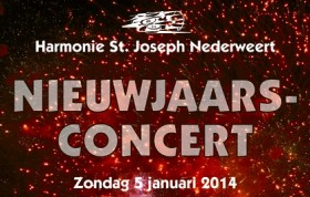 Nieuwjaarsconcert door Harmonie St Joseph