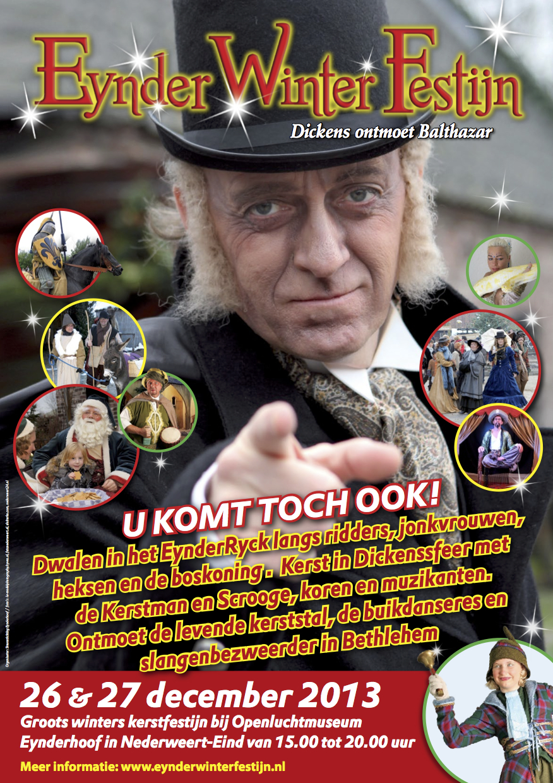 Poster Eynder Winter Festijn 2013