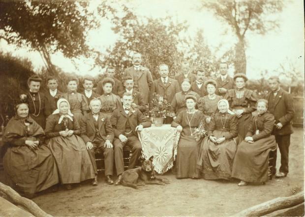 bruiloft cato vd kerkhof & arie van vinken 18 juni 1912 (2)
