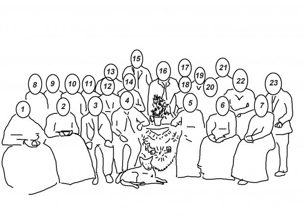 bruiloft cato vd kerkhof & arie van vinken 18 juni 1912. genummerd