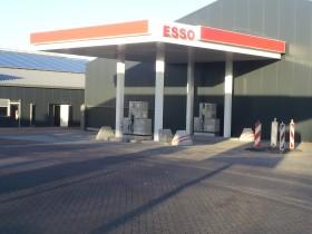 verbouwing tankstation Roost