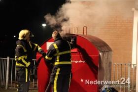 Containerbrandje Meierijstraat Boshoven Weert