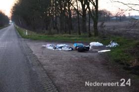 Afval Wessemerdijk bij Spporbrug Nederweertr