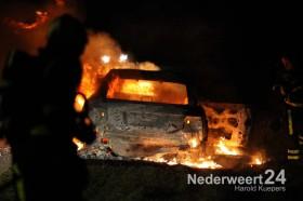 Autobrand Schoordijk Nederweert