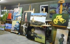 Expositie hobby kunstenaar