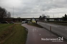 Fietser gewond na aanrijding Suffolkweg Weert 2192014-01-16