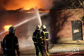 Grote brand Kerkstraat Weert