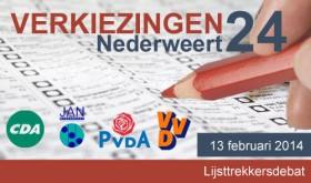 Lijsttrekkersdebat 13-02-2014