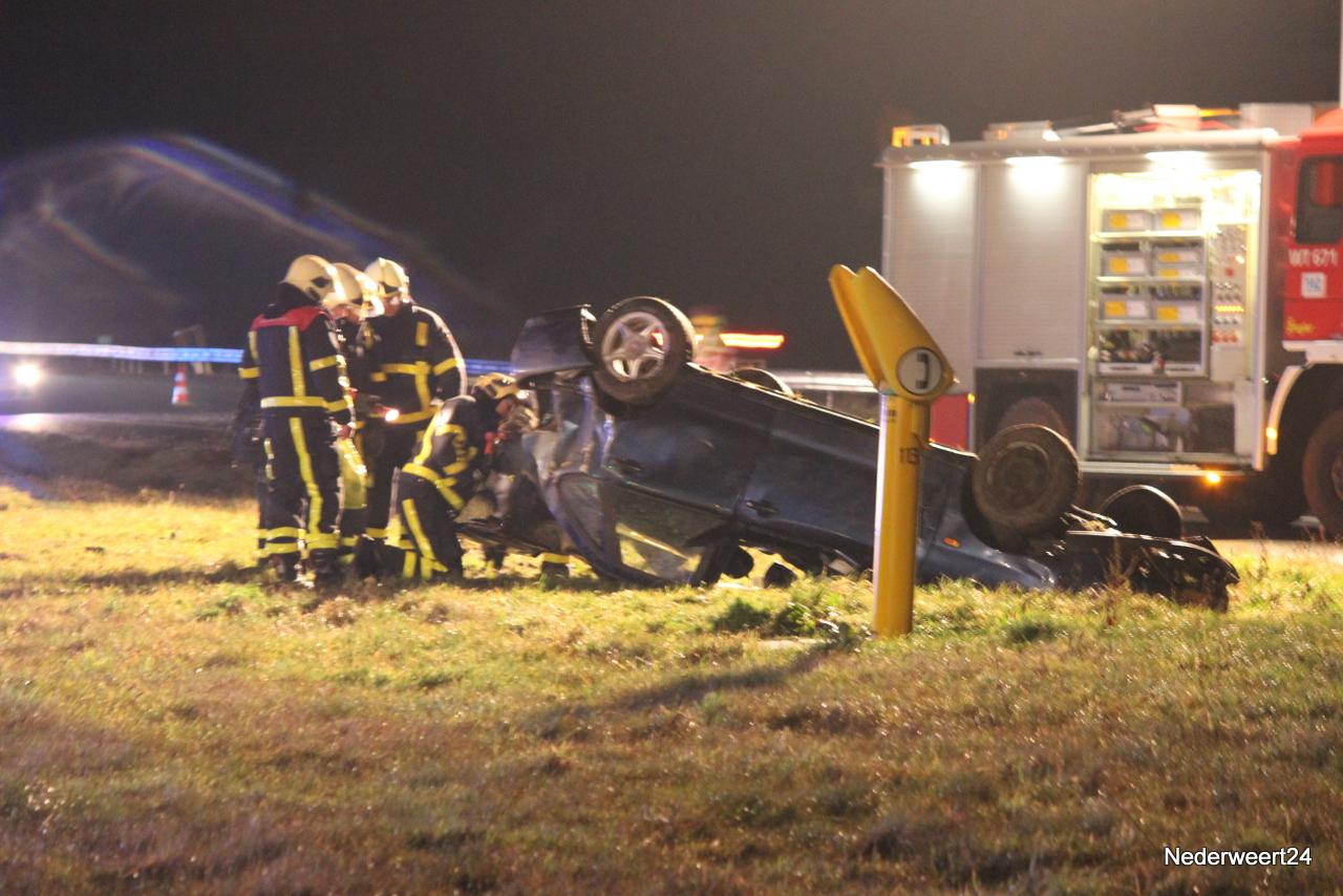 Getuigen gezocht ongeval A2 Grathem