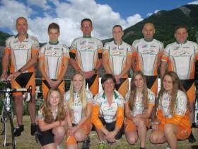 Team Michelle naar Alp d'huzes