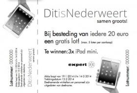 Win een iPad mini met uw aankopen in Nederweert