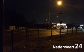 Aanrijding op spoor Roermondseweg Weert (1)