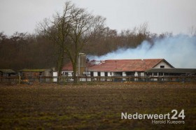 Boerderijbrand Roeventerpeelweg Weert 2