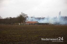 Boerderijbrand Roeventerpeelweg Weert 3