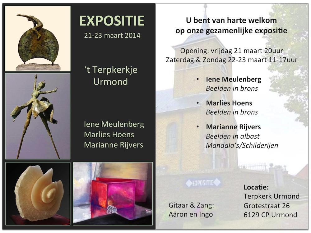 Expositie Marianne Rijvers