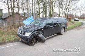 Ongeval Molenbrugweg Swartbroek twee personen auto's tegen elkaar