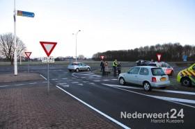 Aanrijding auto fiets Ringbaan Noord Wiekendreef Weert