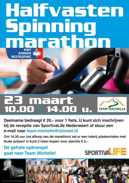 Poster spinning marathon 2014 (Weert) A3.indd