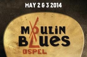 Uitgelicht Poster Moulin Blues 2014