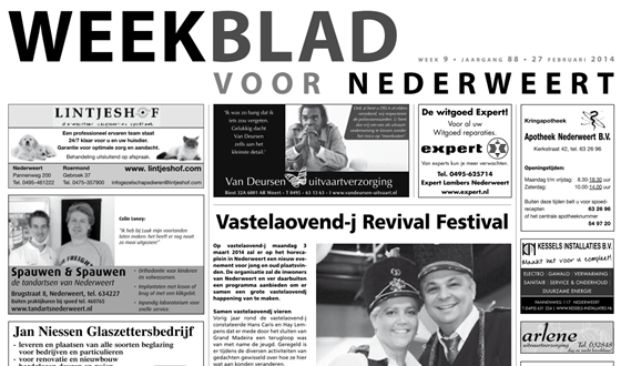 Weekblad nr 9
