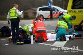 Ongeval Roermondseweg tussen fietser en motor. Fietser overleden