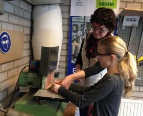 Foto behorend bij persbericht Project Kom in de klas, MAVO in het GROEN