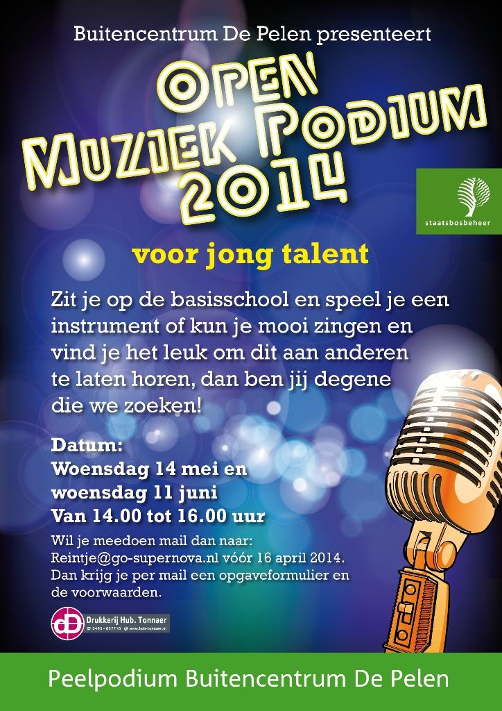 Jong Talent poster klein