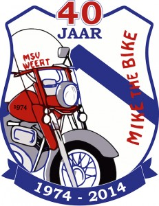 Logo MSV Mike the Bike 40 jaar