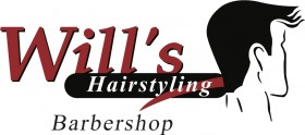 Logo - Wills Hairstyling - barbershop